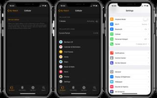 Apple Watch: как активировать и управлять сотовыми данными