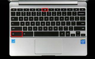 Как сделать снимок экрана на Chromebook