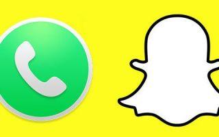 Snapchat — как сделать видео или голосовые звонки