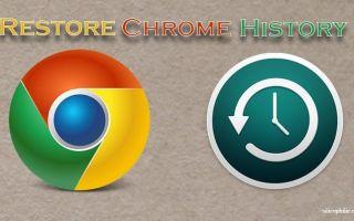 Как восстановить удаленную историю в Google Chrome [6 способов]