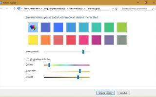 Измените цвет окна на любой из Windows 10