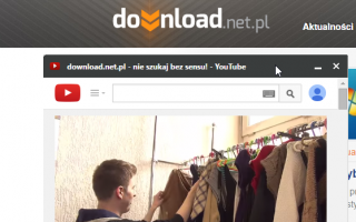 Запуск сайтов, YouTube и веб-приложений в панелях