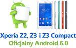 Официальный Marshmallow для Xperia Z2, Z3 (Compact) — как установить?