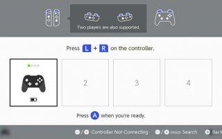 Как отключить контроллер Nintendo Switch