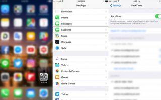 Как использовать FaceTime (iPad, iPhone, iPod и iOS)