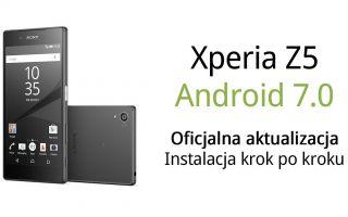 Xperia Z5 и Android 7.0 — установка официального обновления