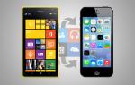Как переключиться с Windows Phone на iPhone