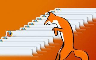 Как отключить несколько процессов Firefox в диспетчере задач?