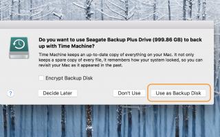 Как сделать резервную копию вашего Mac