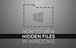 Как показать скрытые файлы в Windows 10 и более поздних сборках