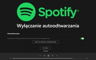 Spotify — как отключить автовоспроизведение похожих песен