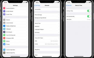 Как установить 24-часовое время на iPhone, iPad, Apple Watch и Mac