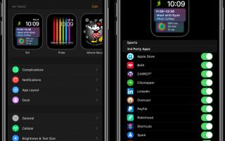 Apple Watch: как добавить сторонние приложения в Siri Watch face