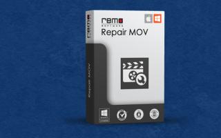 Как восстановить поврежденные MOV файлы с Remo Repair MOV?