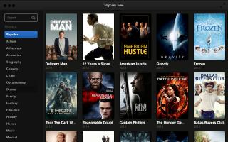 Popcorn Time — смотреть торренты в Интернете