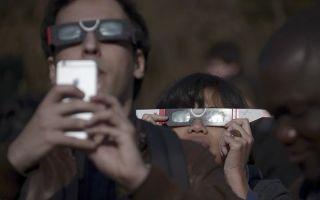 Как сфотографировать затмение с помощью смартфона