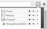 Как группировать расширения в Google Chrome