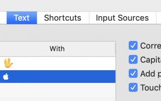 Как напечатать логотип Apple на Mac, iPhone и iPad