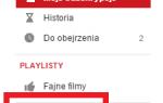 Как группировать подписки на YouTube