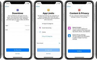 iOS 12: как настроить Screen Time в качестве родительского на iPhone или iPad ребенка