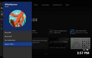 Как появляться в автономном режиме на Xbox One