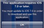 Как установить приложения на более старые iPhone и iPad