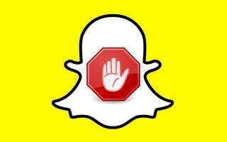 Snapchat — как блокировать или разблокировать людей
