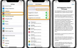 iPhone и iPad: как настроить предложения Siri