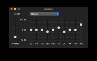 Mac: как настроить эквалайзер в iTunes