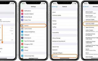 iPhone и iPad: как включить новый тезаурус в iOS 12