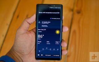 Как отключить Bixby Key на Samsung Galaxy S9, S8 или Note 8