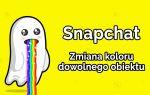 Как изменить цвет любого объекта на снимке в Snapchat