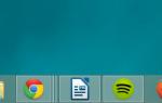 Как отключить группировку значков на панели задач в Windows 7, 8 и 8.1