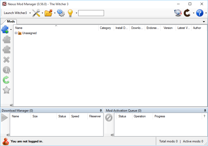 Nexus Mod Manager Server Status