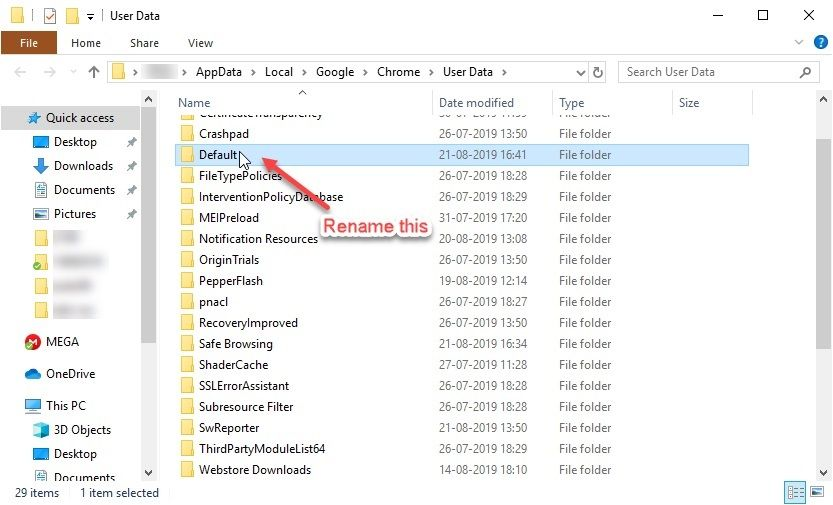 rename_default_folder