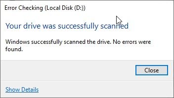 Error_Checking_Local_Disk