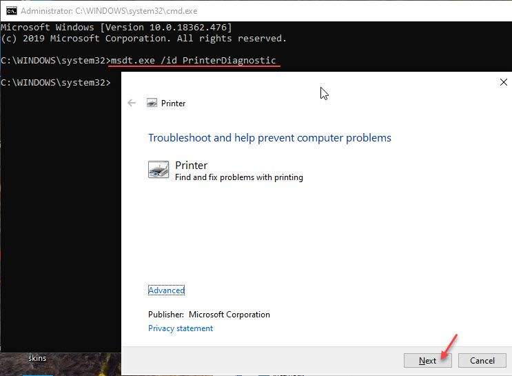 printer_troubleshooter_command_prompt